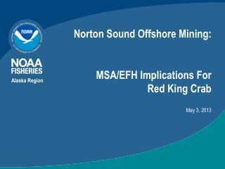Norton Sound Offshore Mining: