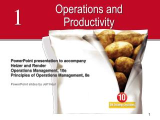 Operations and Productivity