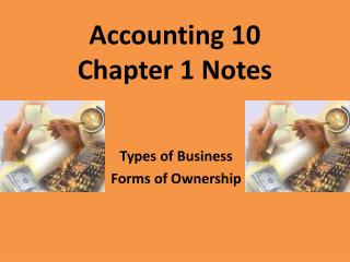 Accounting 10 Chapter 1 Notes