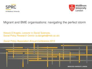 Migrant and BME  organisations: navigating  the perfect storm
