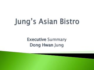 Jung's Asian Bistro
