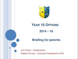 Year 10 Options