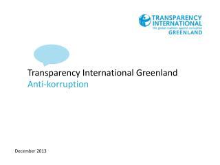 Transparency International Greenland