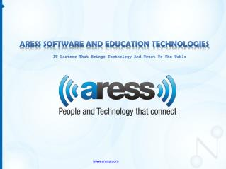 Aress software and education technologies