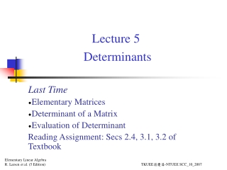 lecture 14 lu decomposition