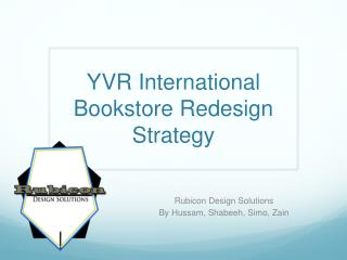 YVR  International Bookstore  Redesign Strategy