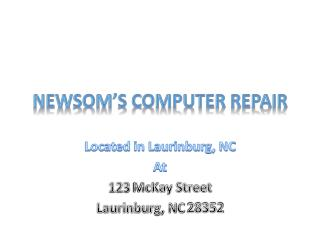 Newsom�s Computer Repair