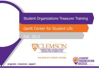 Student Organizations Treasurer Training