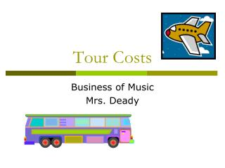 Tour Costs