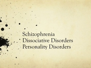 antisocial personality disorder alternately: psychopathic personality; sociopathic personality