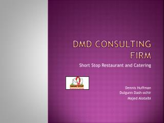DMD CONSULTING FIRM