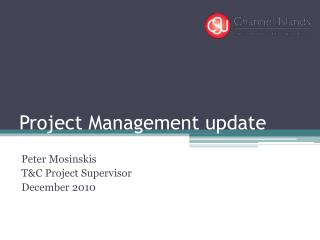 Project Management update