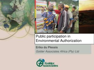 Public participation in Environmental Authorization