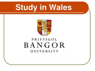 Study in Wales