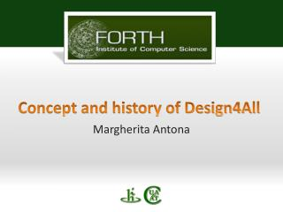Concept and history of Design4All