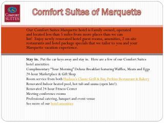 Comfort Suites of Marquette