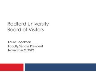 Radford University Board of Visitors