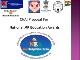 CMAI Proposal For  National MP Education Awards
