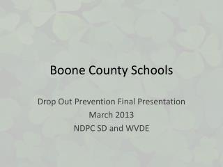 Boone County Schools