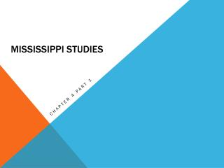 Mississippi Studies