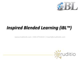 Inspired Blended Learning (iBL™)