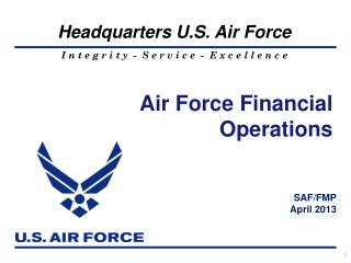 Air Force Financial Operations