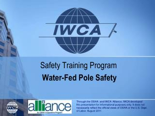 Safety Training Program