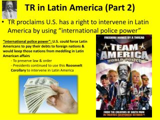 TR in Latin  America (Part 2)