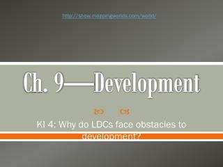 Ch. 9—Development