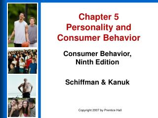 chapter 5 personality and consumer behavior