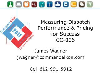 Measuring Dispatch Performance & Pricing for Success CC-006