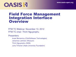 Field Force Management Integration Interface Overview