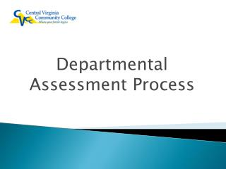 Departmental Assessment Process