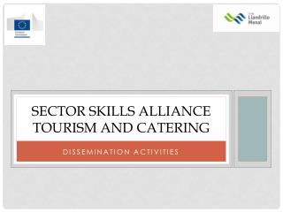Sector Skills Alliance  Tourism AND catering