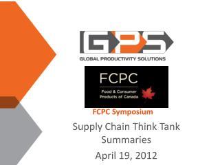 FCPC Symposium