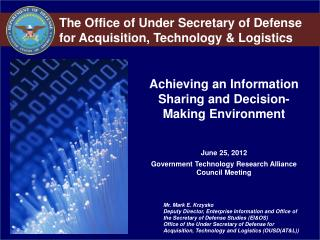 Achieving an Information Sharing and Decision-Making Environment