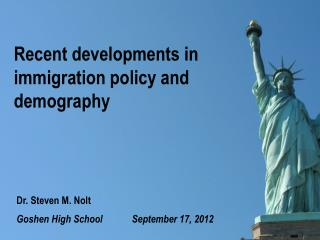 Recent developments in immigration policy and demography