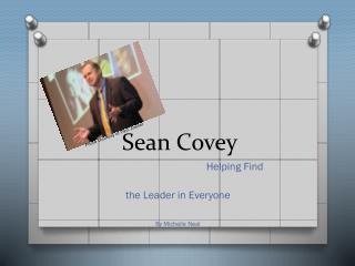 Sean  Covey