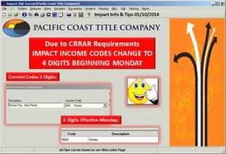 Impact Info & Tips 01/07/2014