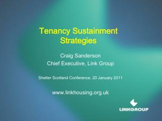 Tenancy Sustainment Strategies