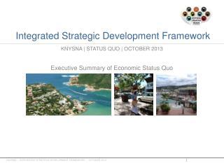 Integrated  Strategic Development Framework