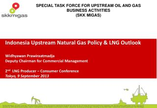 Future upstream  oil and gas in  Indonesia will be dominated with  natural gas production,  as  exploration results ten