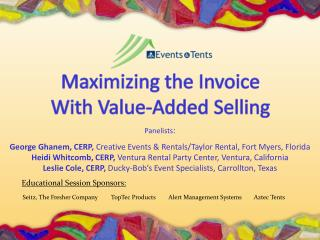 Maximizing the Invoice  With Value-Added Selling