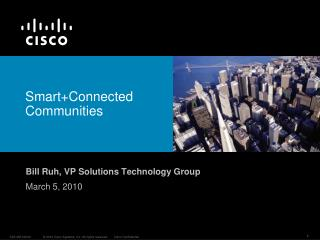 Smart+Connected Communities