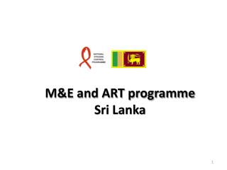 M&E and ART programme Sri Lanka
