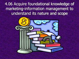4.06  Acquire foundational knowledge of marketing-information management to understand its nature and scope