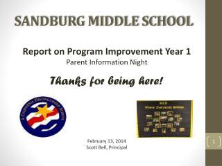 SANDBURG MIDDLE SCHOOL