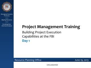 Managing Enterprise Processes