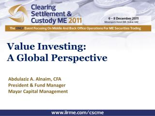 Value Investing: A Global Perspective