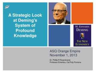 ASQ Orange Empire November 1, 2013